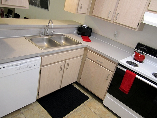 Cobblestone Apartments Kitchen