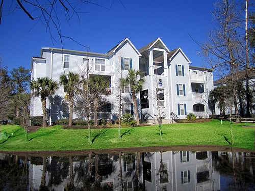 Gainesville Place Apartments View Across Water