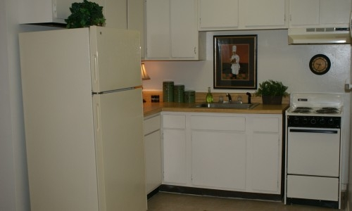Gator Village Apartments Kitchen