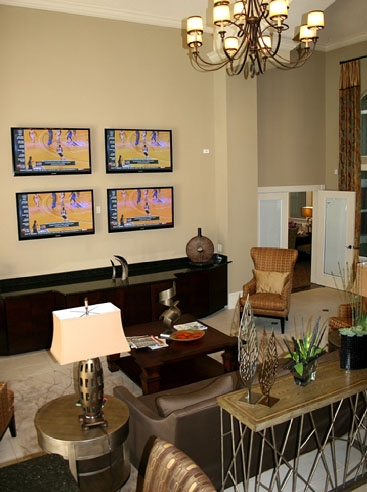 Legacy at Fort Clarke Apartments Clubhouse Interior 1