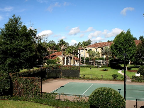 Legacy at Fort Clarke Apartments Tennis Court