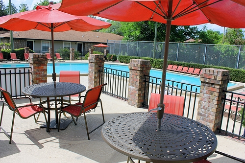 Oxford Manor Apartments Pool Area