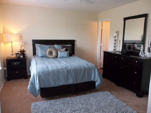Santa Fe Oaks Apartments Bedroom
