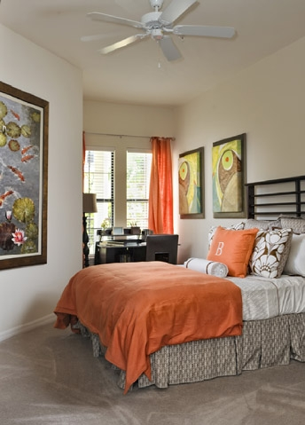 The Bartram Apartments Bedroom