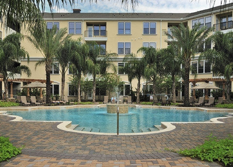The Bartram Apartments Pool