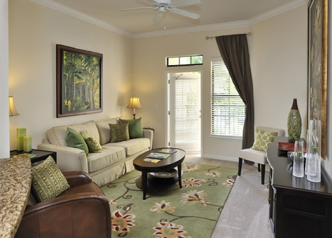 The Bartram Apartments Living Area 1