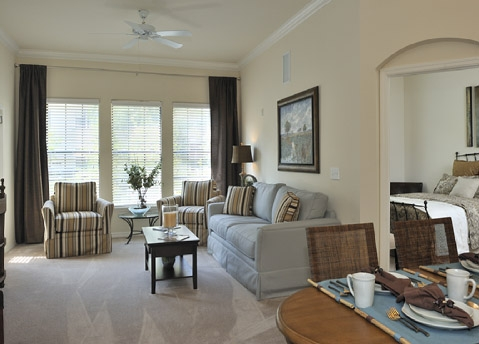 The Bartram Apartments Living Area 2