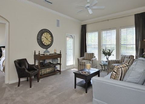 The Bartram Apartments Living Area 3