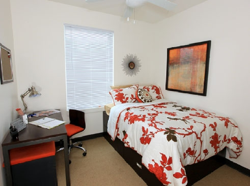The Continuum Apartments Bedroom 1