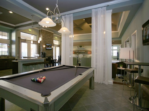 The Retreat at Magnolia Parke Clubhouse Pool Table