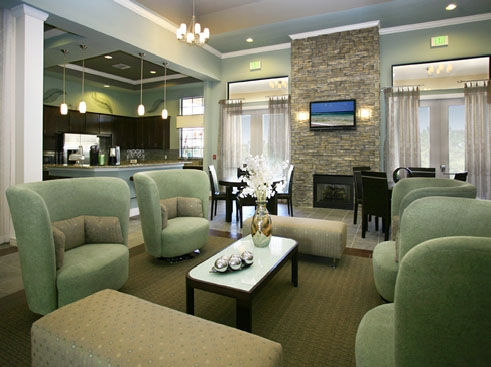 The Retreat at Magnolia Parke Clubhouse Interior