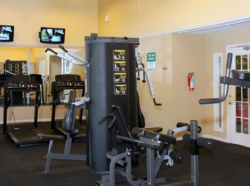 Towne Parc Apartments Fitness Center