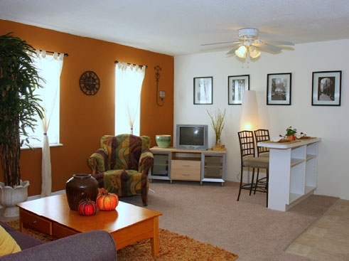 Towne Parc Apartments Living Area