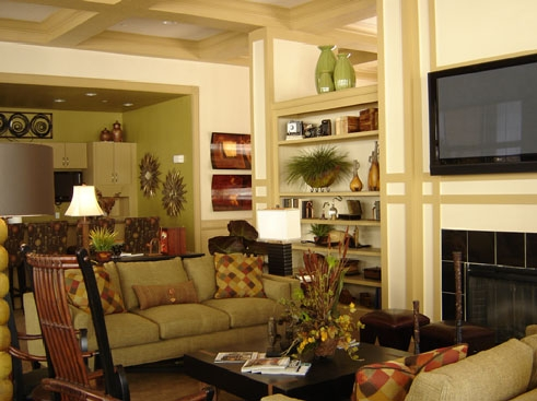 Wildflower Luxury Apartment Homes Clubhouse Interior 1