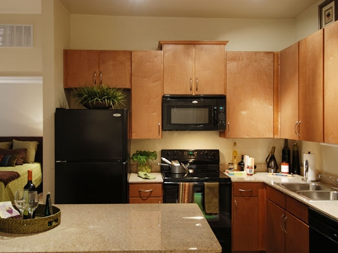 Wildflower Luxury Apartment Homes Gourmet Kitchen with Granite Countertops