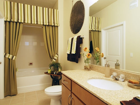 Wildflower Luxury Apartment Homes Bathroom